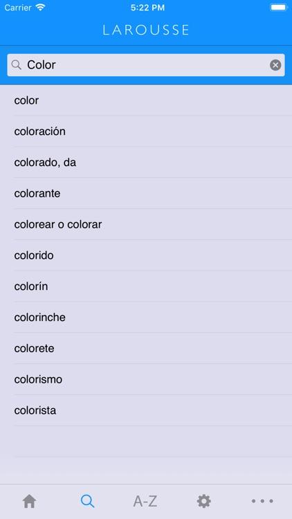 Larousse Spanish Advanced screenshot-3