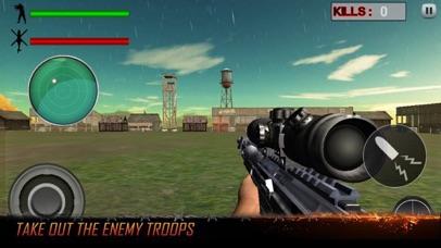 Sniper Helicopter War Shoot screenshot one