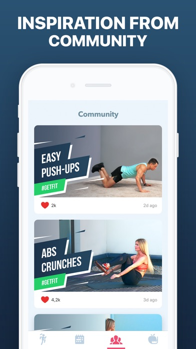 GetFit: Home Fitness & Workout app image