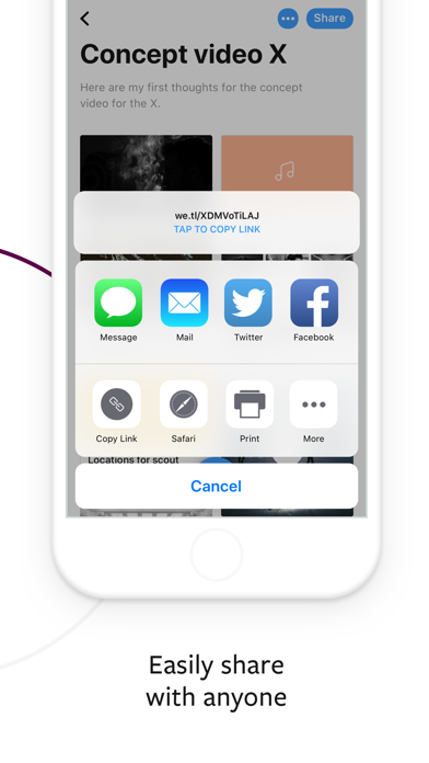 download WeTransfer apps 3