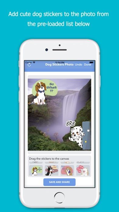 Dog Stickers Photo screenshot 2