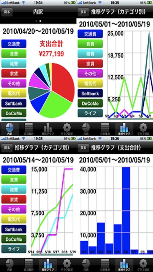 家計簿くん ScreenShot4