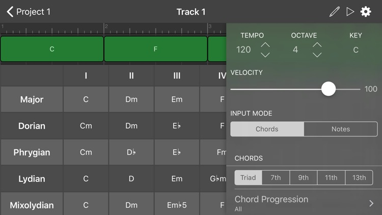 ChordBud - Chord Progressions screenshot-2