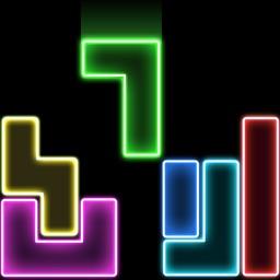 Block Puzzle! Glow Puzzle Game