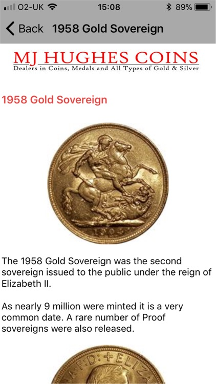 MJH Guide to Gold Sovereigns