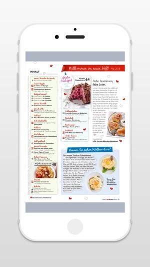 Kochen Und Backen App kochen backen magazin im app store
