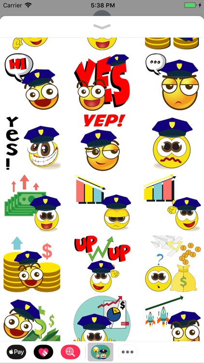 Police Moji-Emoji for Police screenshot-4