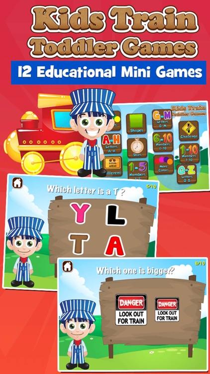 Kids Train Toddler Games
