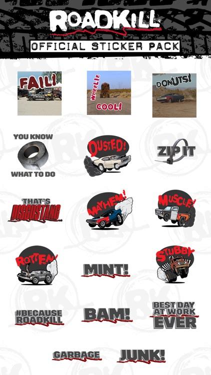 Roadkill Stickers by Motor Trend Group LLC