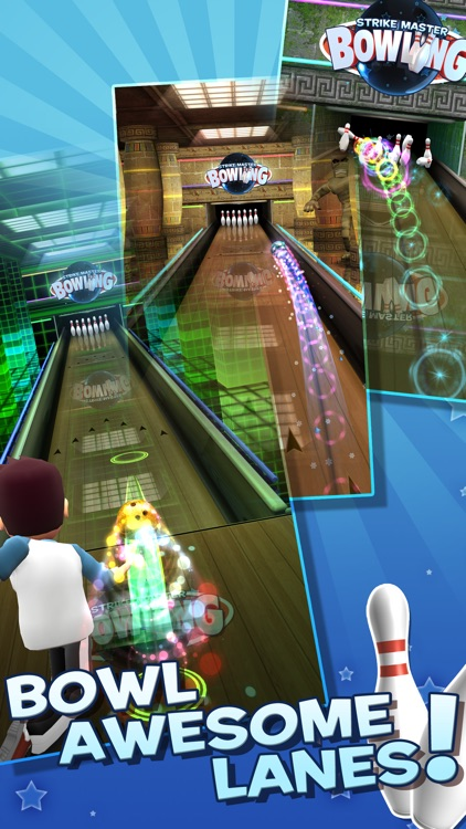 StrikeMaster Bowling screenshot-0
