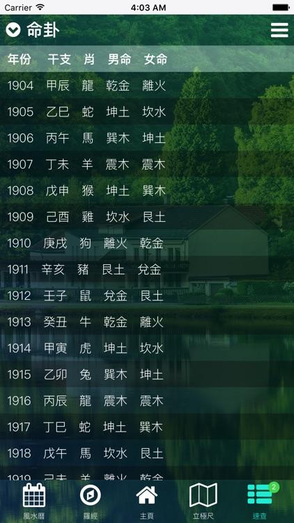 玄空飛星羅經 - 專業風水羅盤 screenshot-4