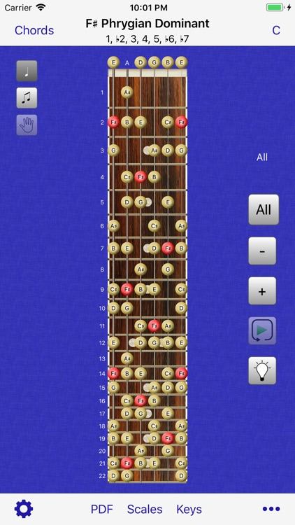 Guitar Scales & Chords Power screenshot-7