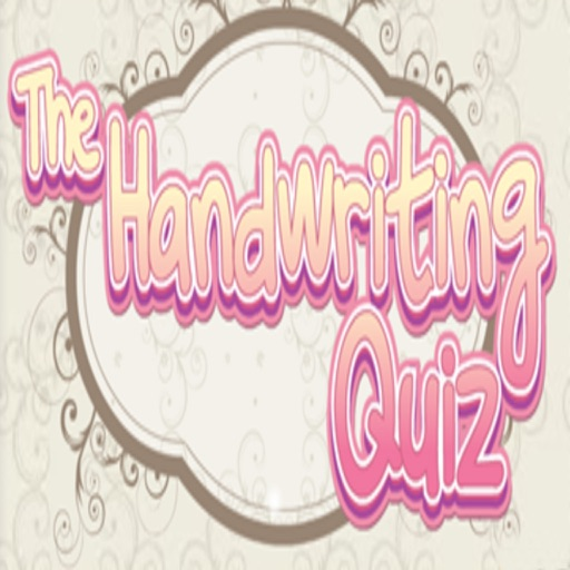 The Handwriting Quiz Game
