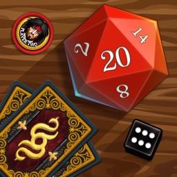 Demons vs. Wizards - Magic Card & Dice Game