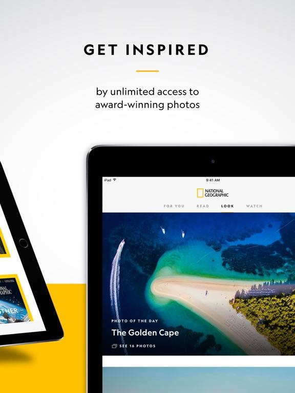 National Geographic Magazine screenshot