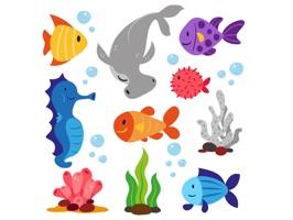 Sea Life Emojis
