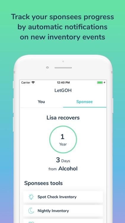 LetGOH - Addiction Recovery screenshot-7