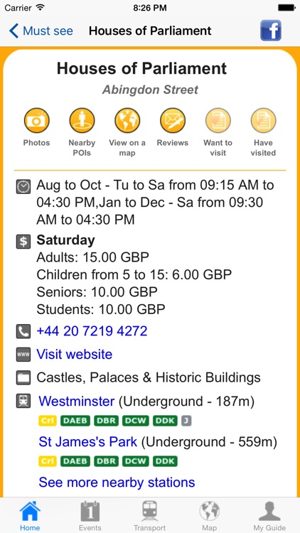 London Travel Guide Offline screenshot-4