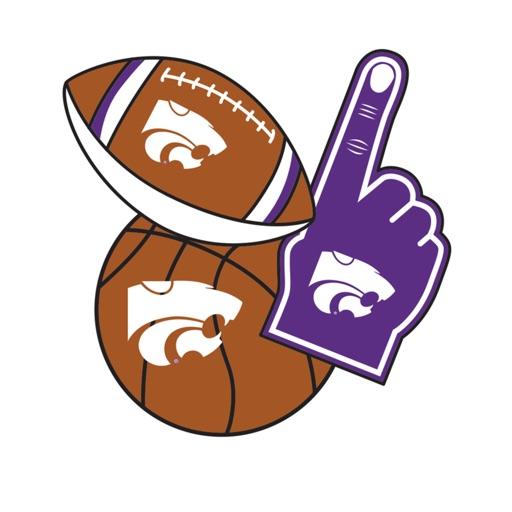 Kansas State Wildcats Selfie Stickers