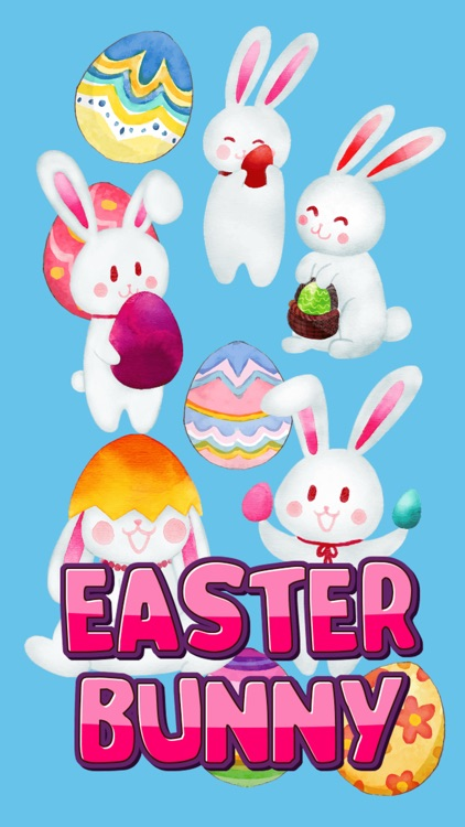 Happy Easter 2018 Stickers