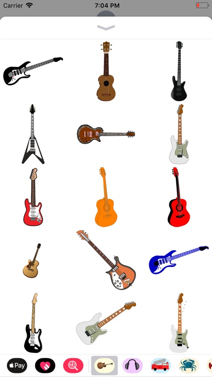Groovy Guitar Stickers screenshot-7