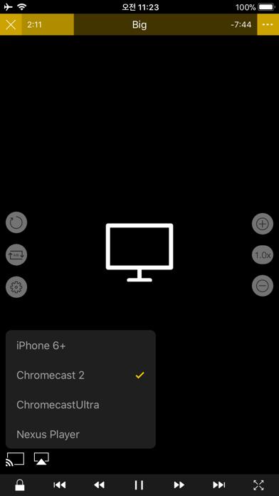 Screenshot for nPlayer Plus in Korea App Store