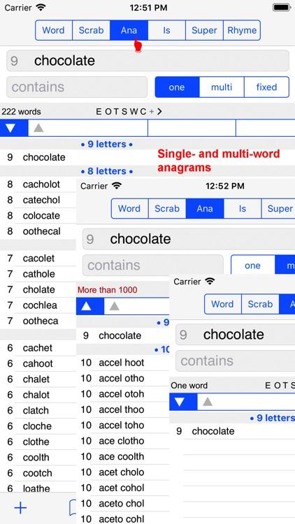 English Words Finder PRO screenshot-3