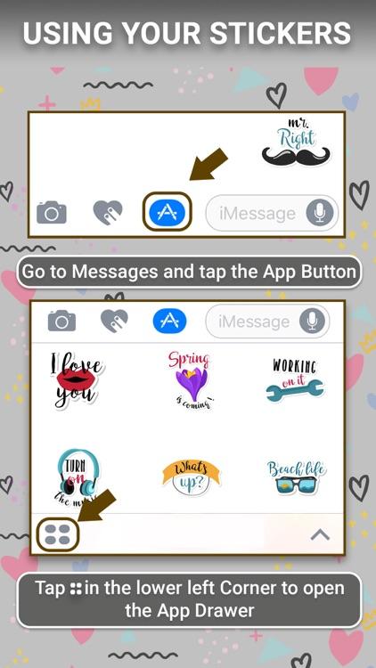 Everyday Animated Text Sticker