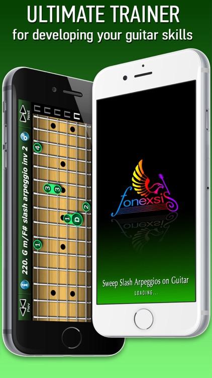 Sweep Slash Arpeggio on Guitar screenshot-4