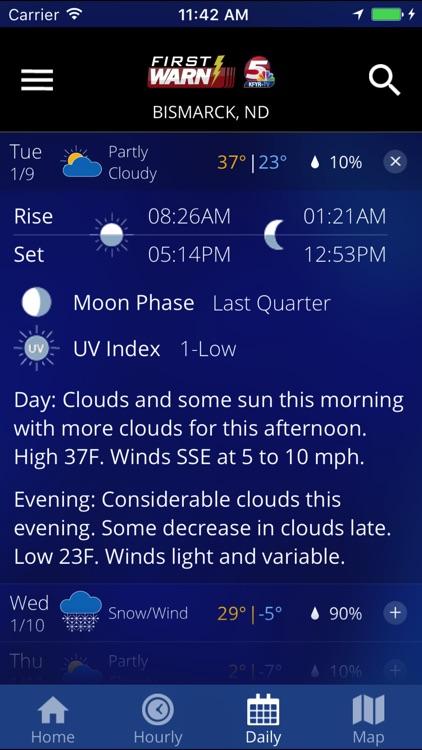 KFYR-TV First Warn Weather screenshot-4