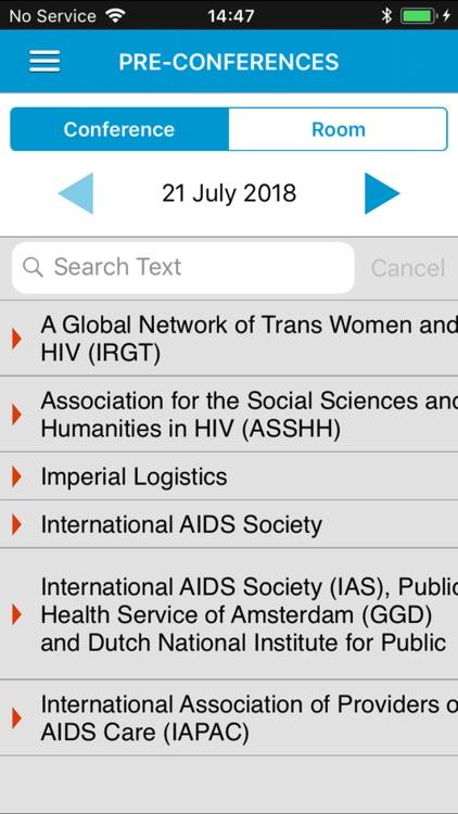 AIDS 2018 screenshot-5