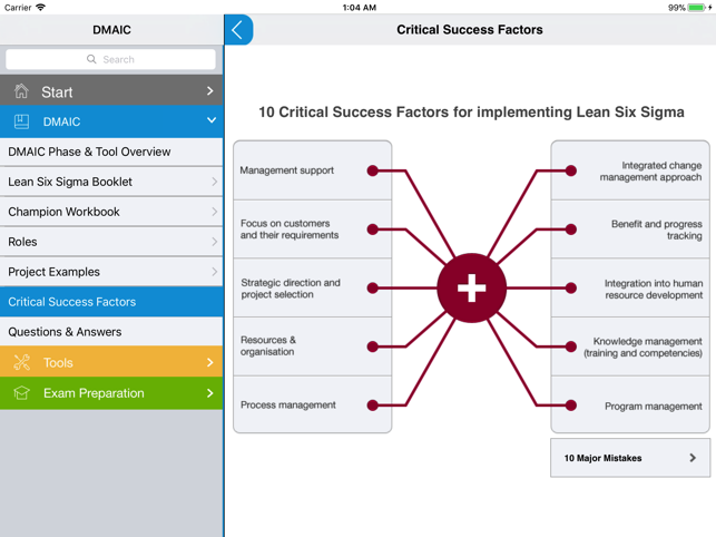 Lean Six Sigma Coach on the App Store