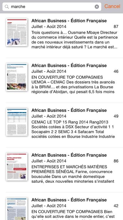 African Business FR screenshot-3