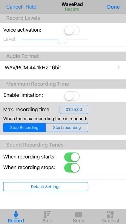 WavePad Music and Audio Editor screenshot-4