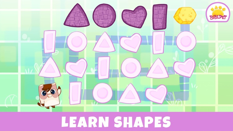 Bibi.Pet Learning shapes Kids