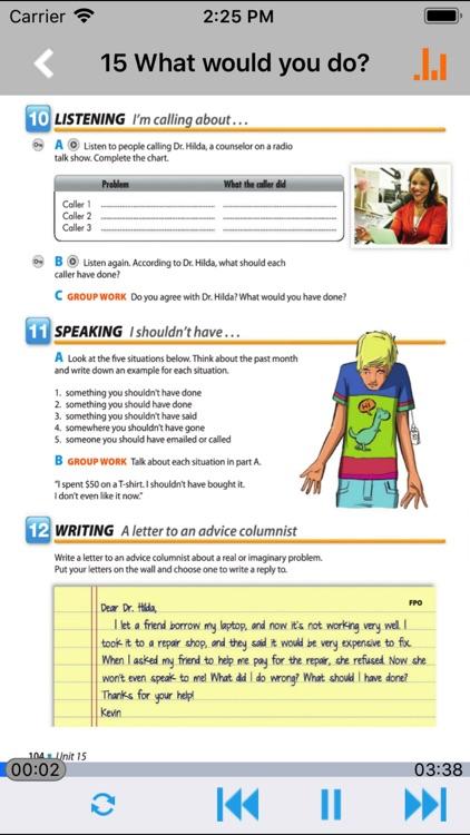 剑桥国际英语教程2级 -第四版学习助手 screenshot-4
