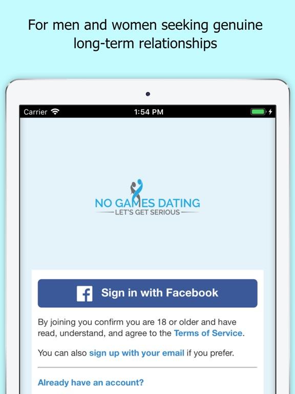 no signup dating app