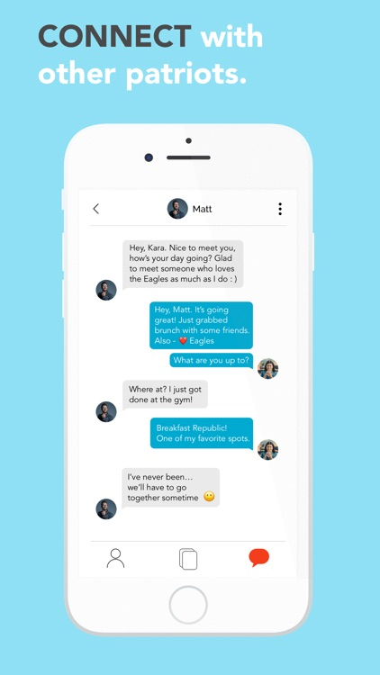 dating app ad