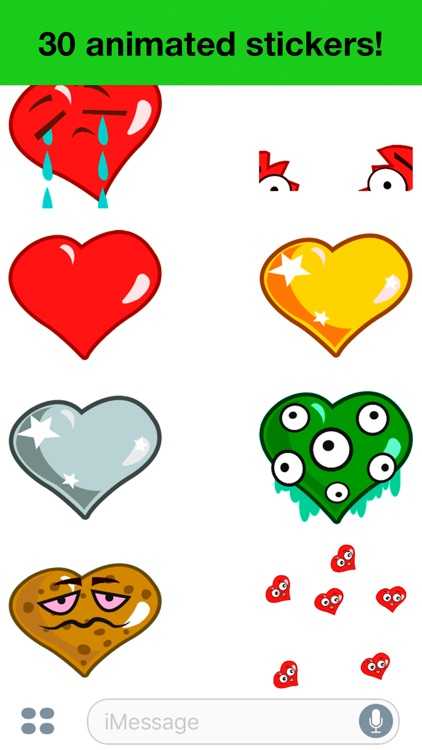 Heart - Animated cute stickers screenshot-4