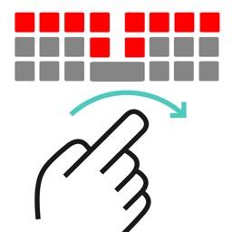 キーボードアプリ日本語入力 フリックボード