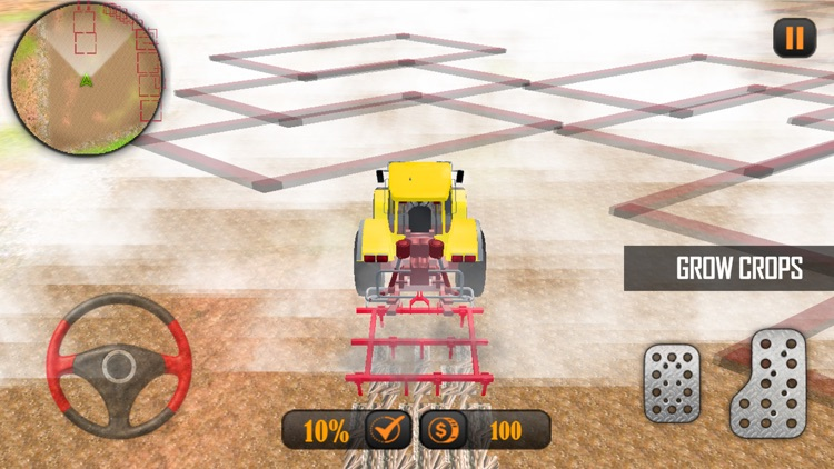 Farming Tractor Simulator Pro screenshot-3