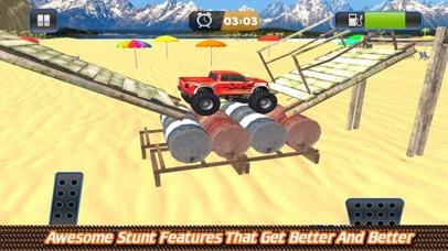 Grand Monster Truck Driving Sk screenshot 3
