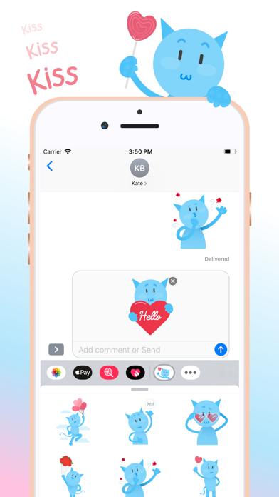 Love Sparkly Stickers screenshot three
