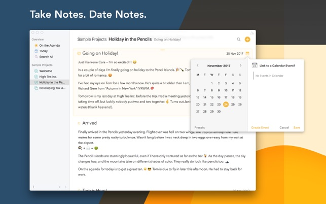 New note taking app Agenda wants to change how we buy Mac apps Image