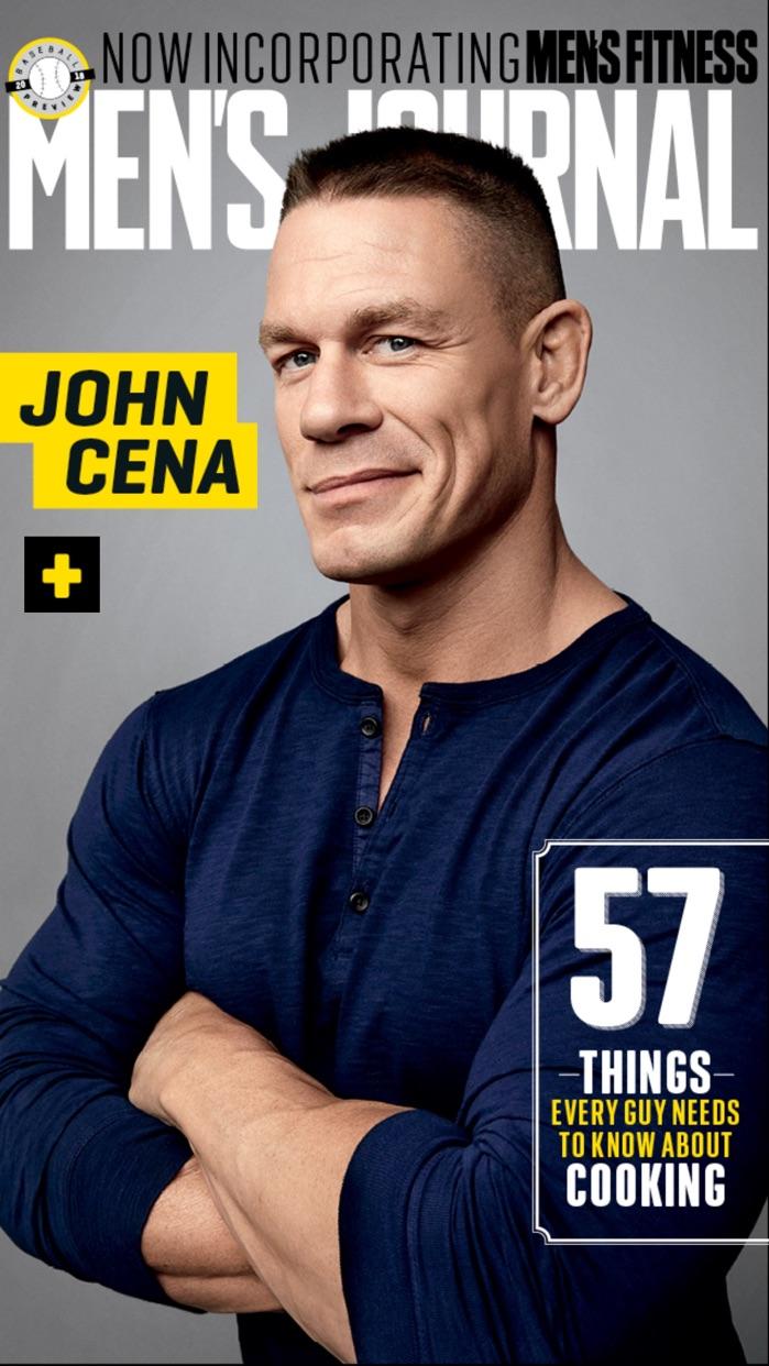 Men's Journal Screenshot