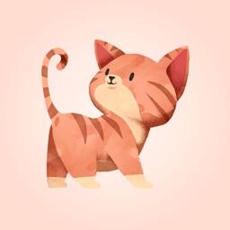 Loving Little Kitten Stickers