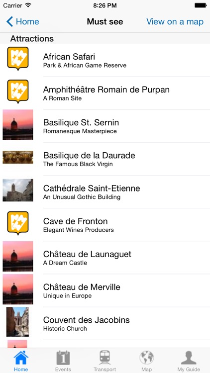 Toulouse Travel Guide Offline screenshot-3
