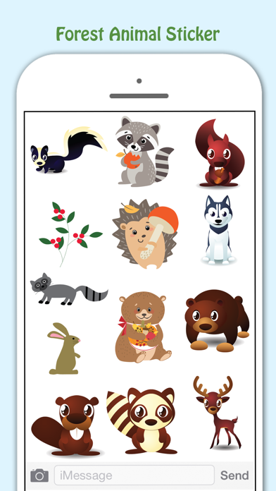 Forest Life Lovely Stickers Pack screenshot three