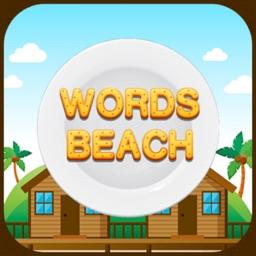 Word Beach: unscramble words