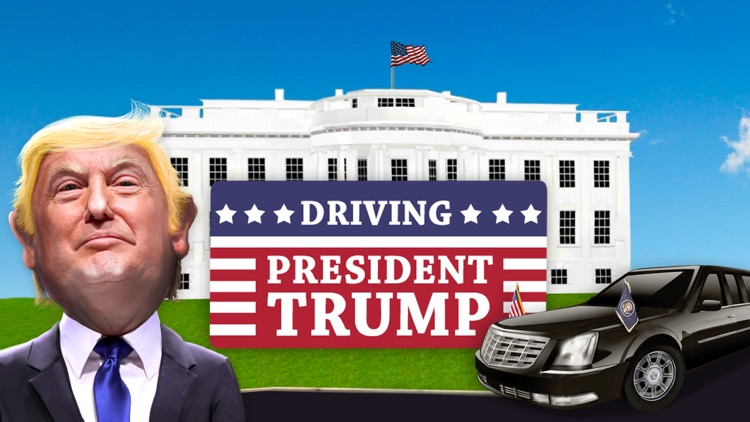 Driving Trump Car Simulator 3D screenshot-6